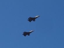 11:02 アメリカ空軍編隊飛行