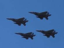 11:41 航空自衛隊 編隊飛行