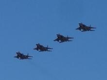 11:47 航空自衛隊 編隊飛行