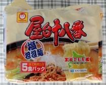 屋台十八番 塩担担麺 (5食入)  243円