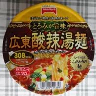 広東酸辣湯麺 91円