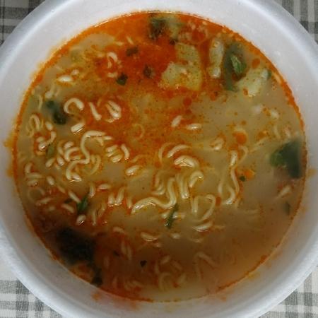 液体スープを混ぜて、完成。