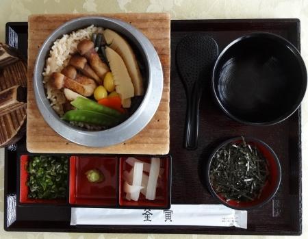 松茸釜飯 1825円