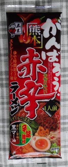 熊本赤辛ラーメン 108円