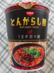 とんがらし麺 うま辛担々麺 128円