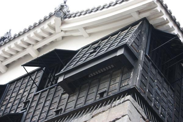 熊本城 石落とし