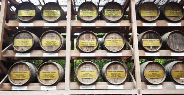 ワインの酒樽