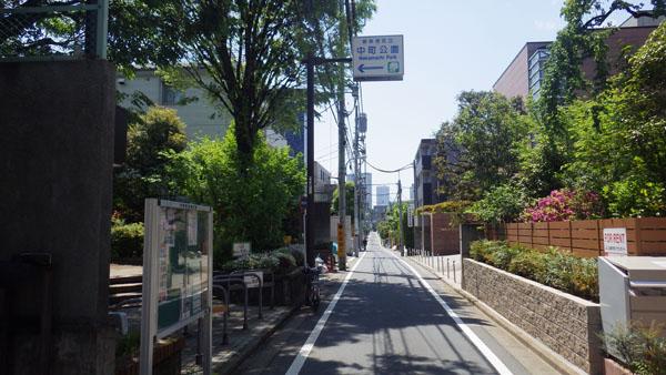 中町の通り