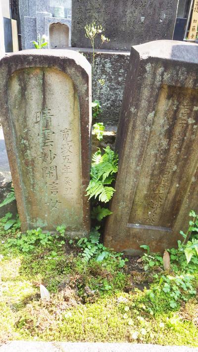 「お母さん」「お賎さん」の墓