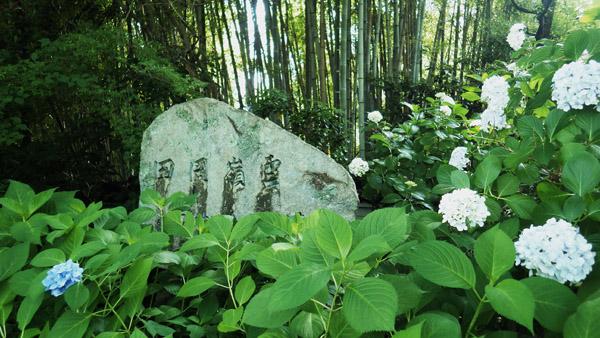 田岡嶺雲の碑