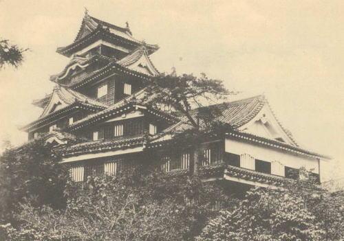戦災前の岡山城