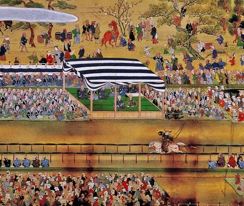 寛永13年(1636)8月19日 高田馬場の開場式典