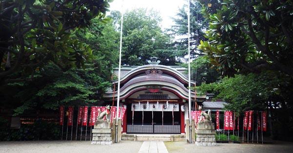 本殿 水稲荷神社