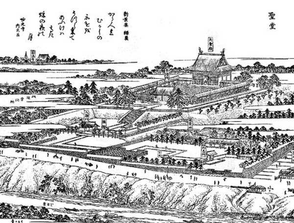江戸名所図絵 湯島聖堂