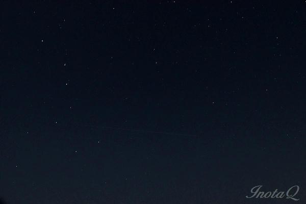 夜空の北斗七星01