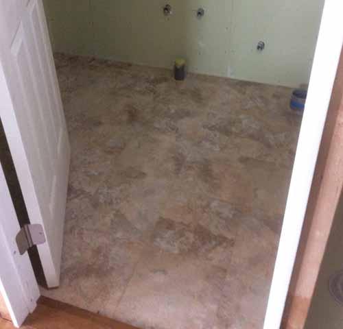 バスルーム床