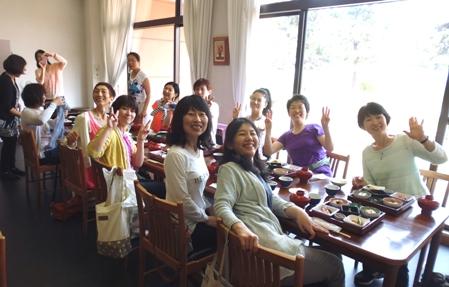 2016 高島合宿 3日目 昼食風景 前