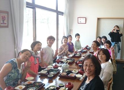 2016 高島合宿 昼食 再度 前