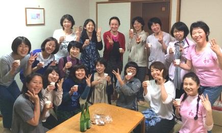 2016 高島合宿 乾杯