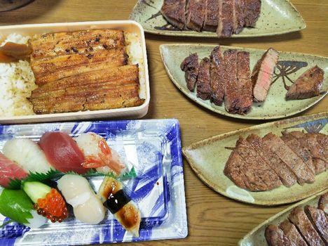 肉寿司うなぎ