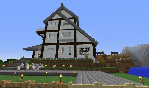 新しい家、東側、600.353