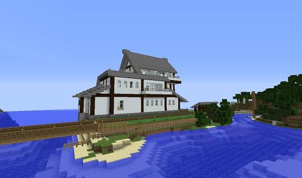 新しい家、南側、600.353