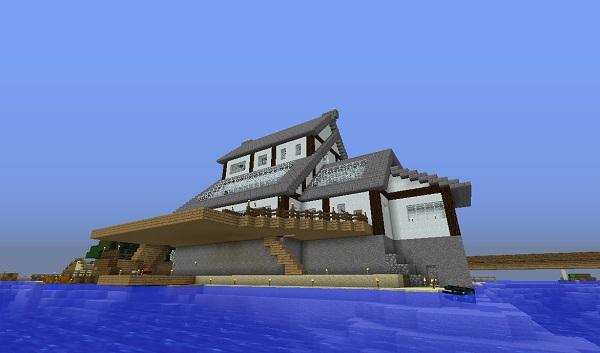 新しい家、北側(海向き)、600.353