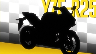 ばくおん!! 挿絵3話YZF-R25 (1)