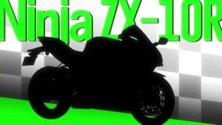 ばくおん!! 挿絵10話 Ninja ZX-10R (1)