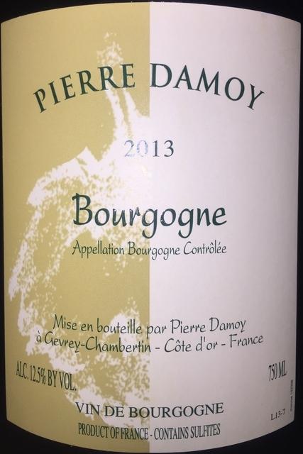 Bourgogne Pierre Damoy 2013