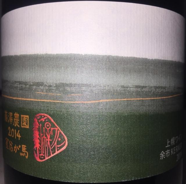 Kamihoro Wine Fujisawa Nouen Saiougauma 10R 2014