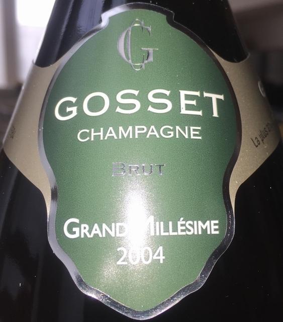 Gosset Brut Grand Millesime 2004