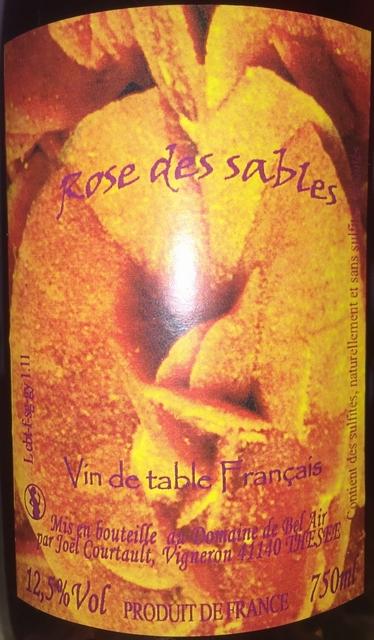 Petian Rose Des Sables Domaine de Bel Air