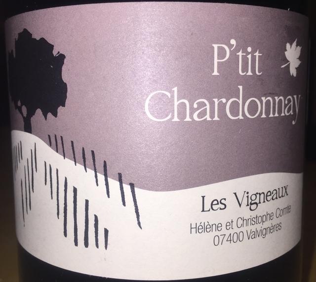 Les Vigneaux Ptit Chardonnay Christophe Helene 2014