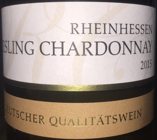 Riesling Chardonnary Rheinhessen 2015 part1
