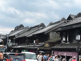 川越蔵の街.