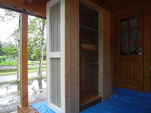 収納小屋壁組2