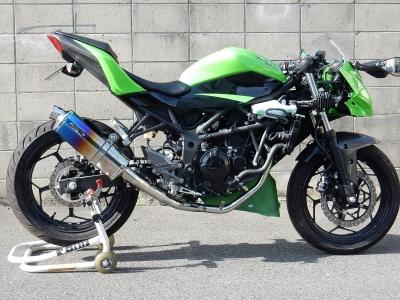 Ninja250SL JP250レース用マフラー (3)