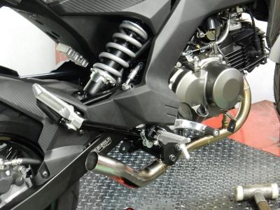Z125PRO マフラー開発 (2)