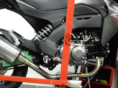 Z125PRO マフラー開発 (3)