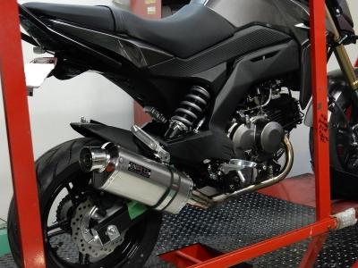 Z125PRO マフラー開発 (6)