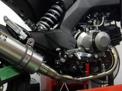 Z125PRO マフラー開発 (7)