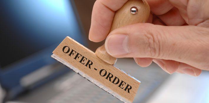 offer order