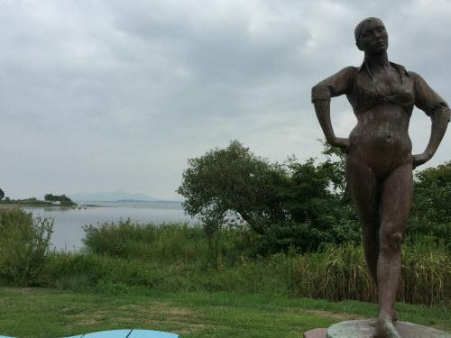 琵琶湖一周目ゴール160917