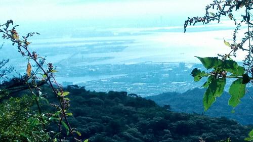 六甲山頂から161015