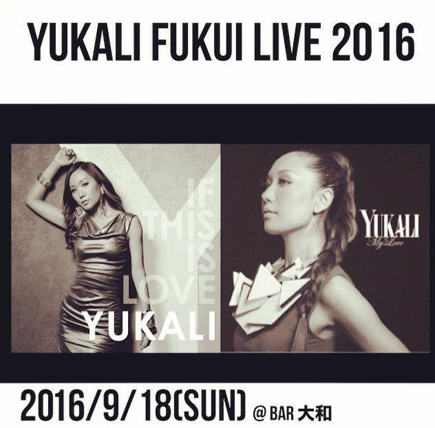 YUKARI in 福井 LIVE 20160918