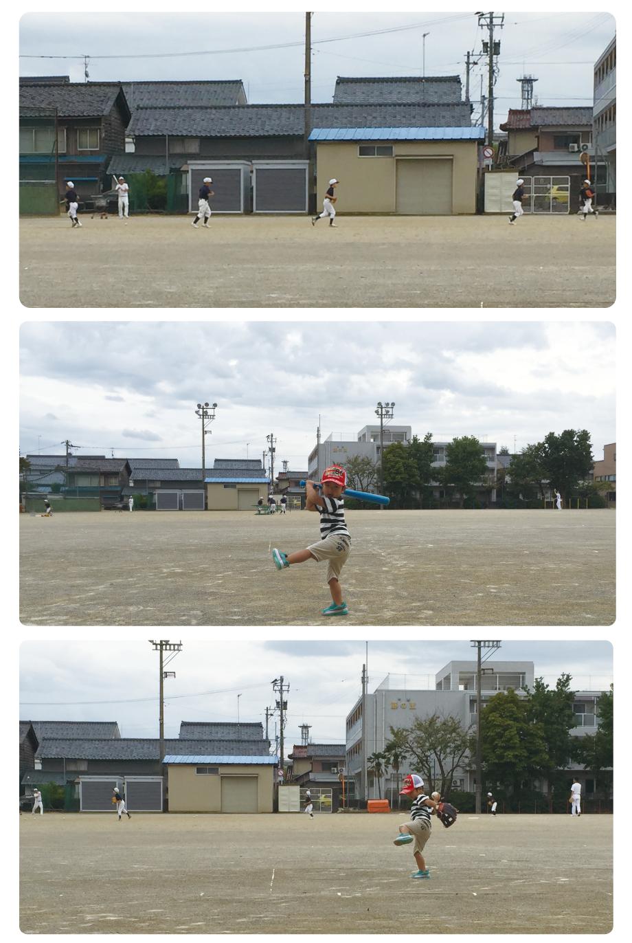 201610_越前市武生東キッズ練習の様子