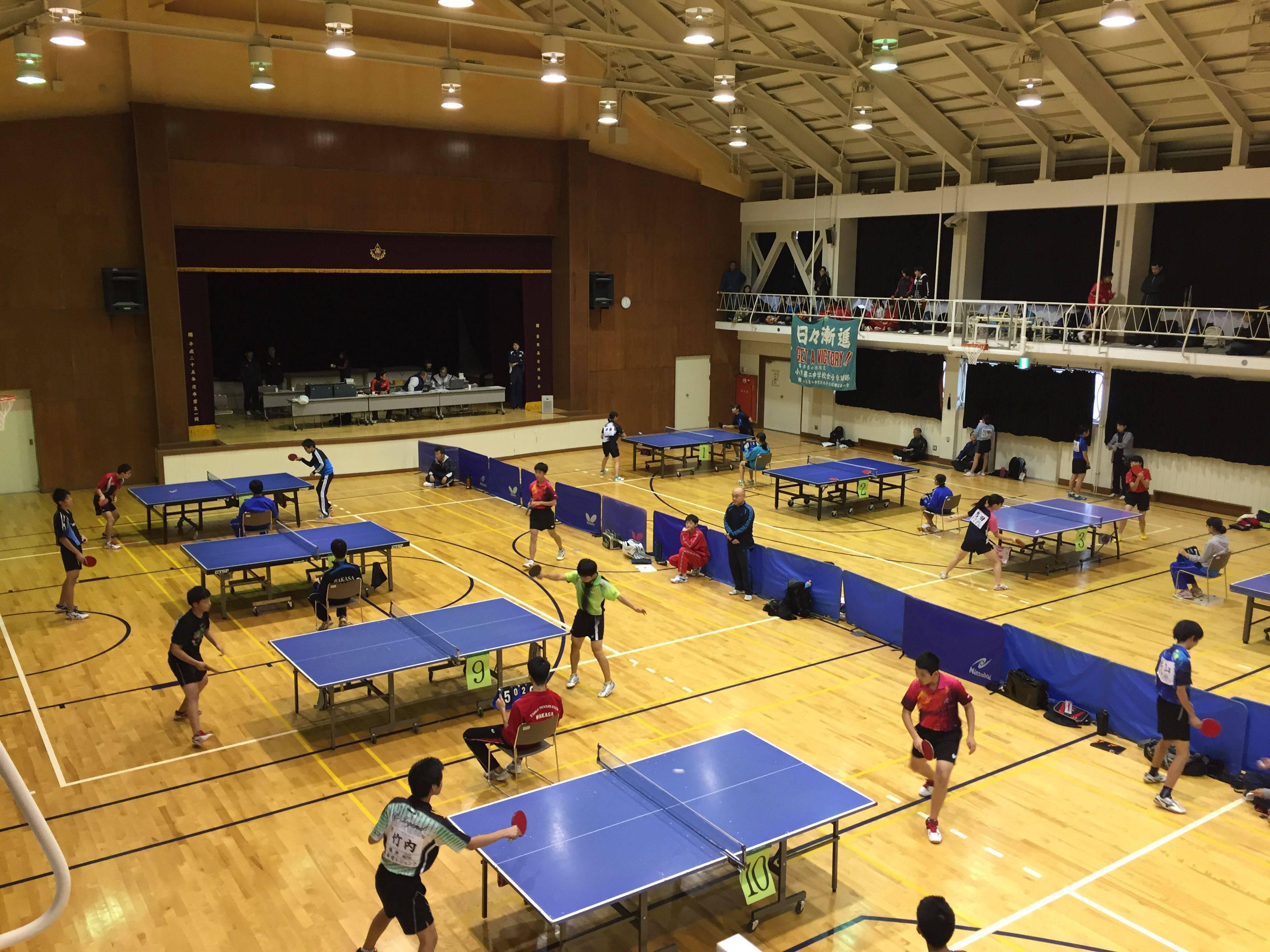 山下杯卓球選手権オープン大会