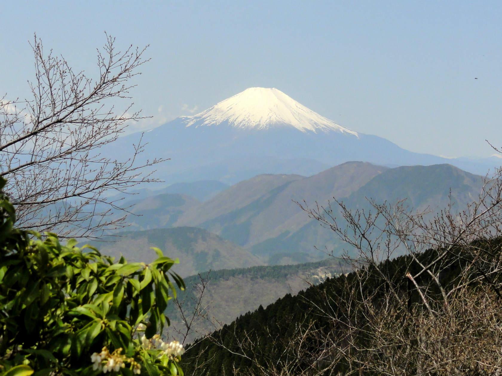 二ノ塔からの富士