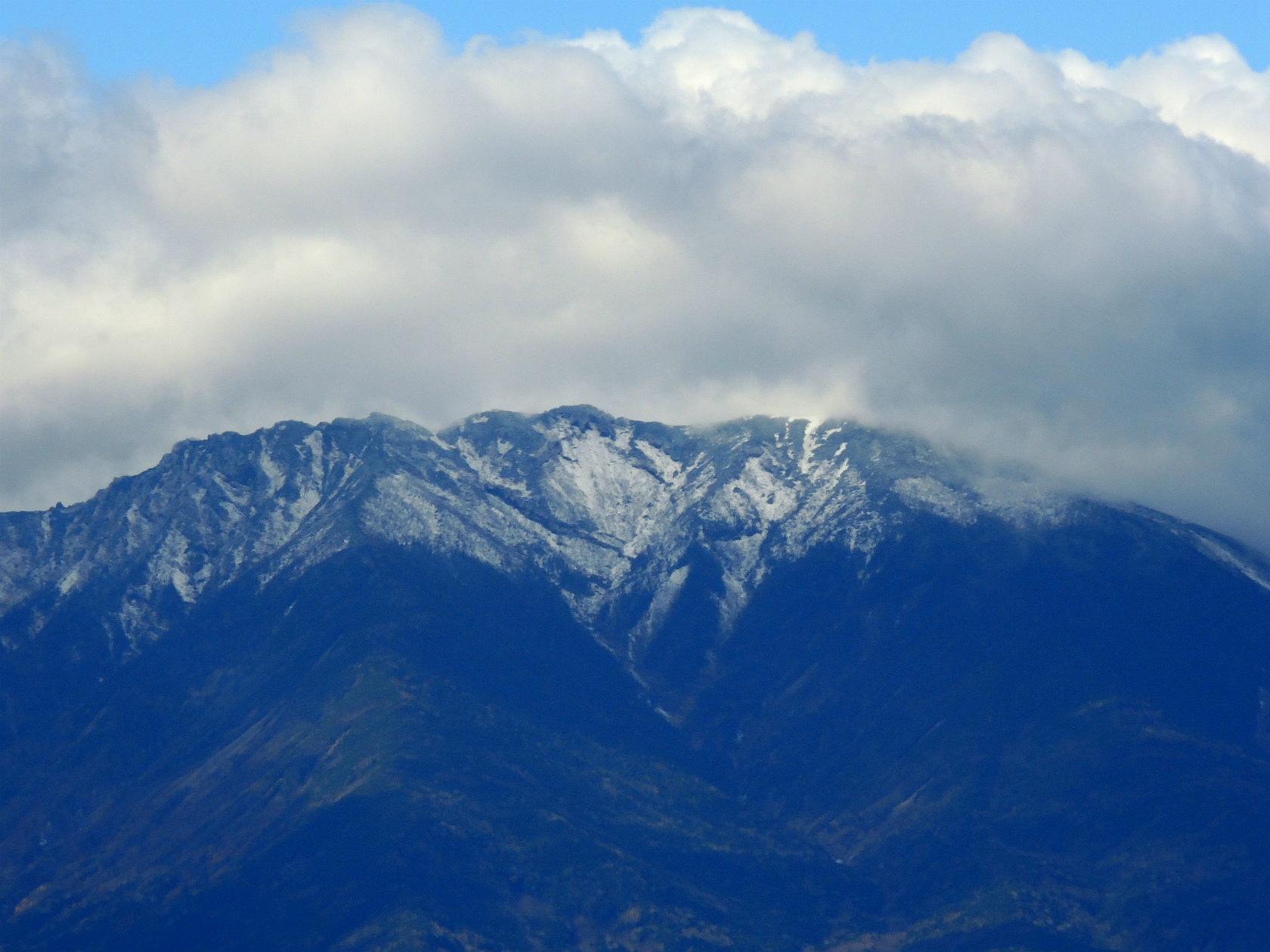 天狗山山頂からの八ヶ岳